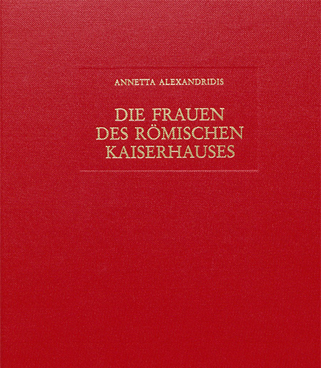 Alexandridis book cover, red