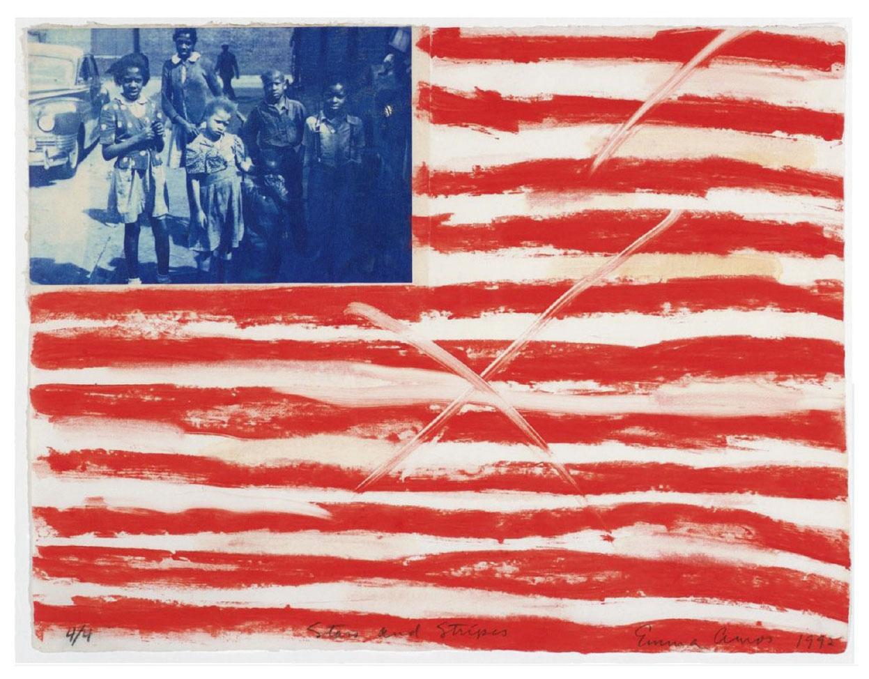 Amos Stars and Stripes artwork