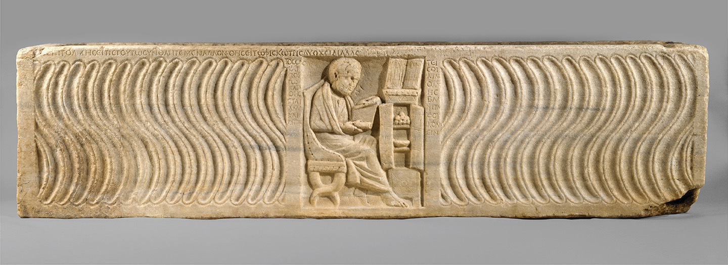 Sarcophagus with a Greek Physician 1948